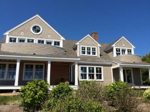 Newly renovated Cape Cod home with new windows siding roofing