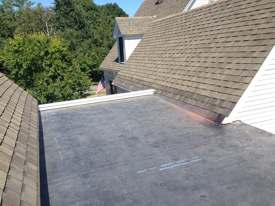 Rubber roof in Dennis MA