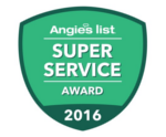 Cape Cod Home Improvement, Angie's Super Service award 2016