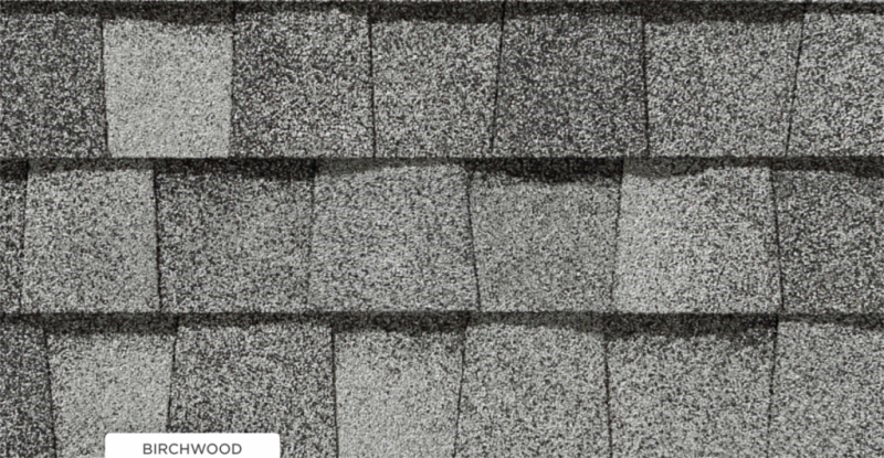 CertainTeed roof shingles, birchwood color