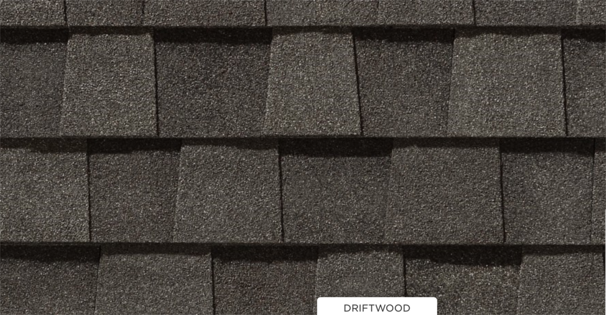 CertainTeed roof shingles, driftwood color