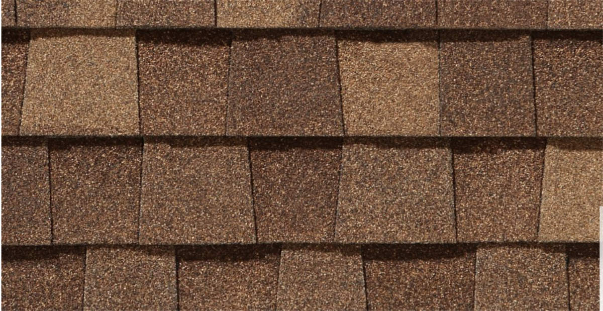 CertainTeed roof shingles, resawn shake color