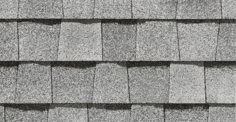 CertainTeed roof shingles, silver birch color