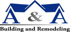 A and A Building and Remodeling logo