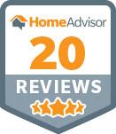 Home Advisor badge 20 reviews